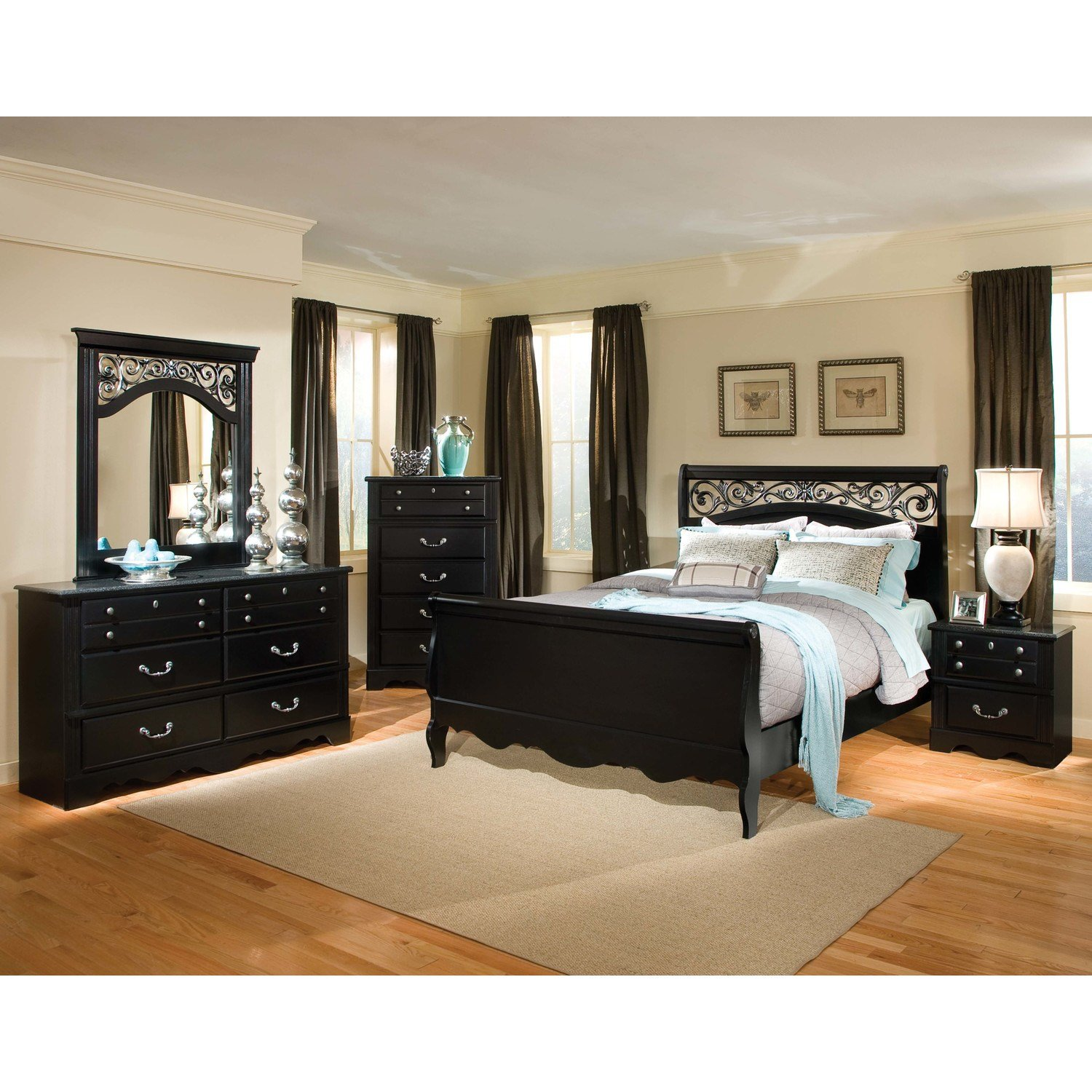 Best Black Gloss Bedroom Furniture Northern Ireland Home Delightful With Pictures