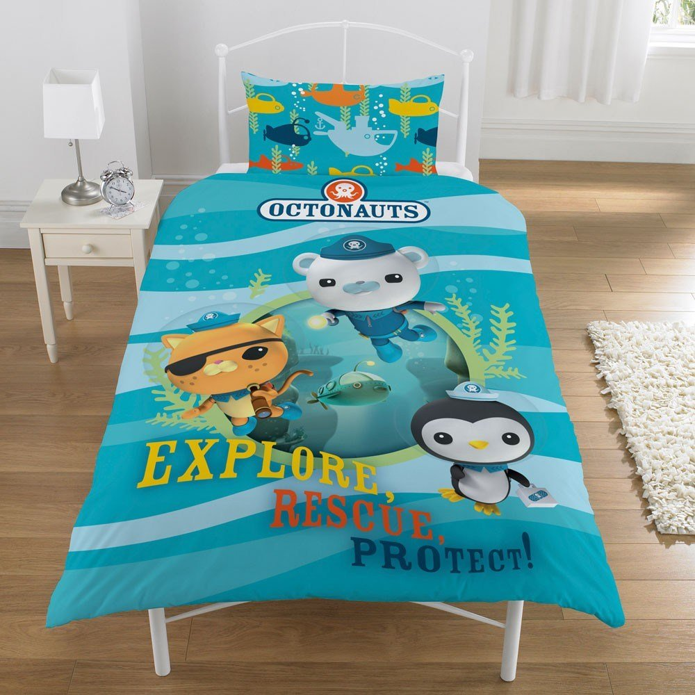 Best Octonauts Duvet Quilt Cover Official New Bedding Ebay With Pictures