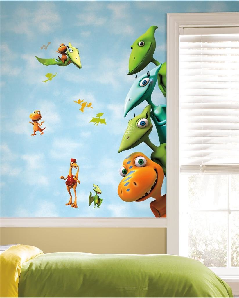 Best New Large Dinosaur Train Wall Decals Kids Dinosaurs Room With Pictures