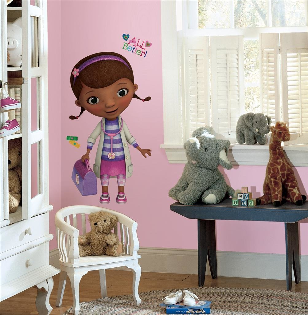 Best New Giant Doc Mcstuffins Wall Decals Disney Stickers Girls Bedroom Decor Ebay With Pictures