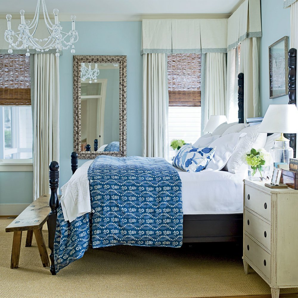 Best Soothing Blue Beach Bedroom 20 Beautiful Beach Cottages With Pictures