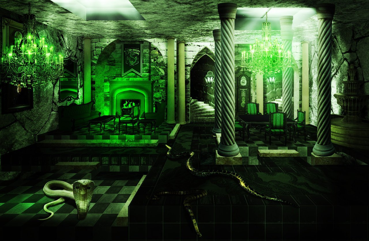 Best Slytherin Common Room Slytherin Fan Art 25343323 Fanpop With Pictures