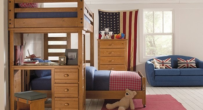 Best Affordable Bunk Loft Beds For Kids Rooms To Go Kids With Pictures
