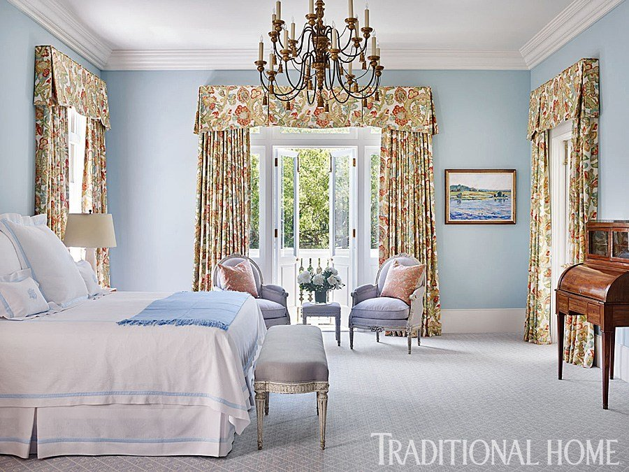 Best Beautiful Blue Bedrooms Traditional Home With Pictures