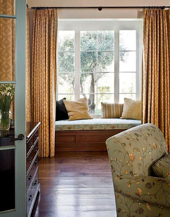 Best Bedroom Decorating Ideas Window Treatments Traditional Home With Pictures