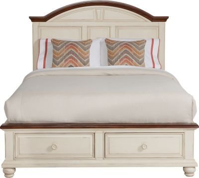 Best Berkshire Lake White 3 Pc Queen Storage Bed Queen Beds With Pictures