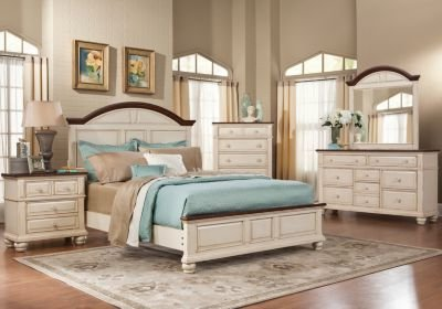 Best Berkshire Lake White 5 Pc King Bedroom Bedroom Sets With Pictures