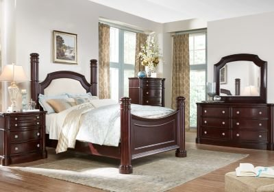 Best Dumont 5 Pc King Low Poster Bedroom Bedroom Sets With Pictures