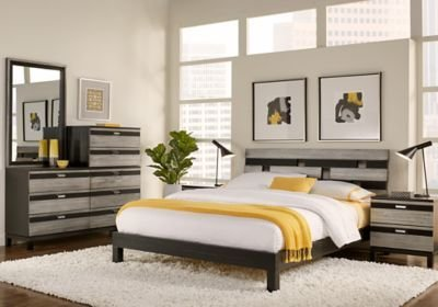 Best 5 Pc Bedroom Set Trinell 5 Pc King Bedroom Set Steinhafels With Pictures