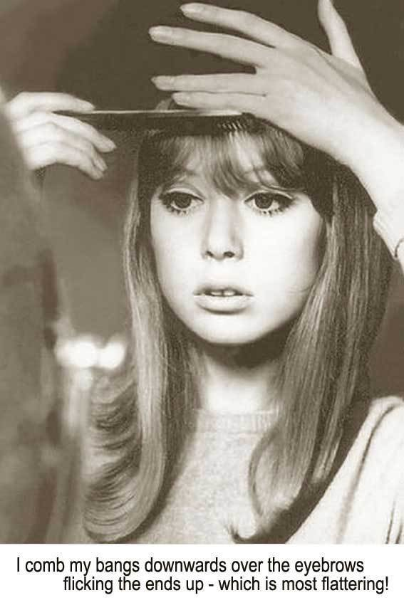 Free 1960S Long Hairstyle Tips – By Sixties Model Pattie Boyd Wallpaper