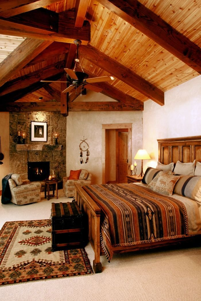Best 23 Cool Rustic Bedroom Design Ideas Interior G*D With Pictures