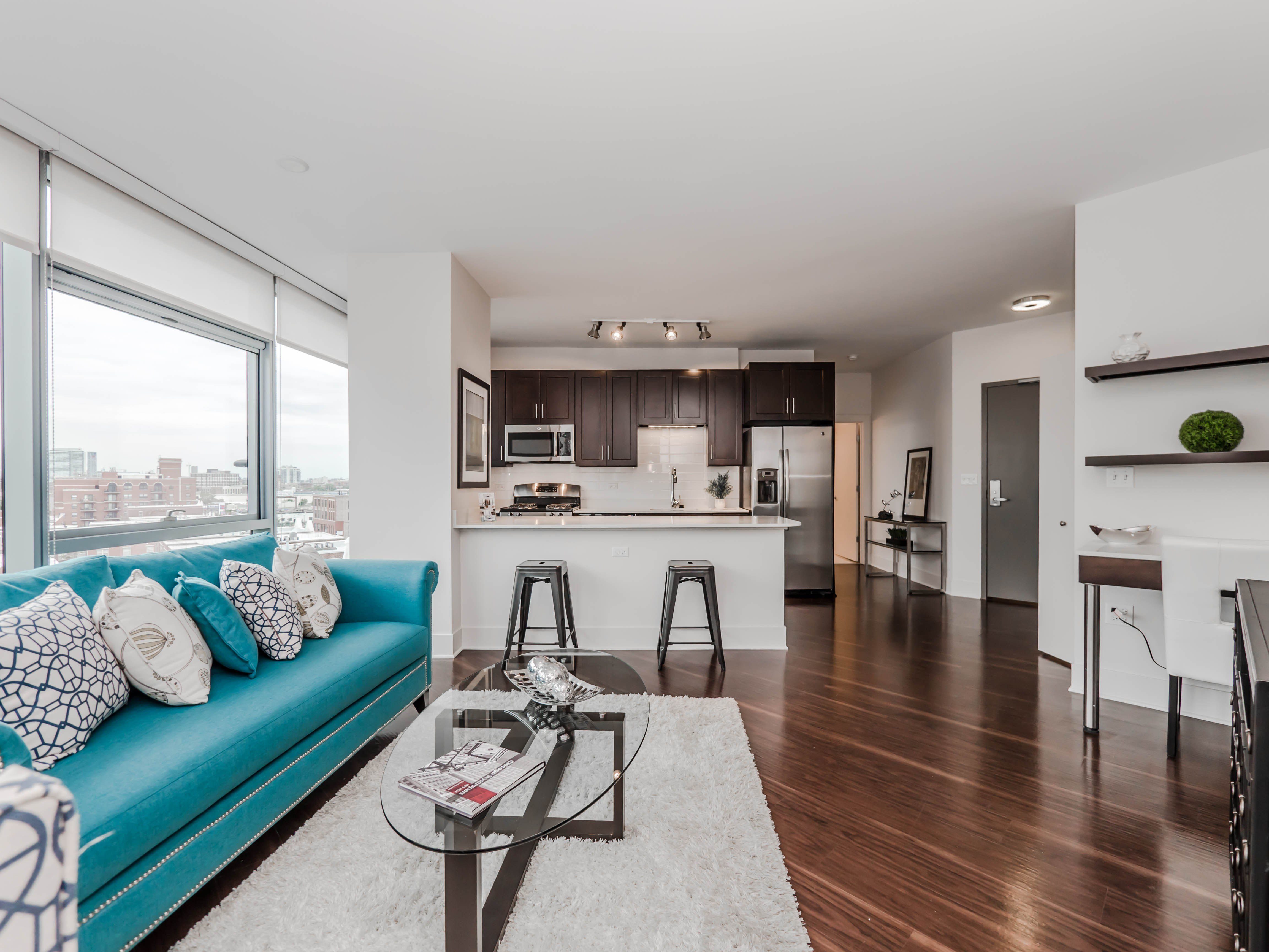 Best Tour A One Bedroom Plus Den At The New New City Apartments – Yochicago With Pictures