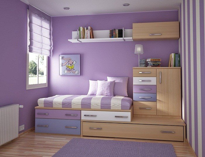 Best Small Bedroom Storage Ideas Cheap Images 05 With Pictures