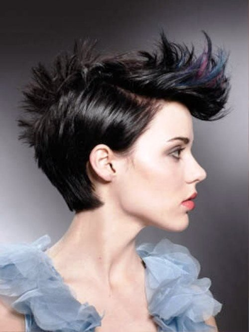 Free 35 Short Punk Hairstyles To Rock Your Fantasy Wallpaper
