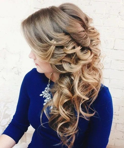 Free 20 Gorgeous Wedding Hairstyles For Long Hair Wallpaper