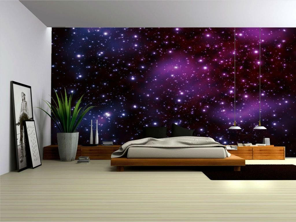 Best Galaxy Fleece Photo Wallpaper Wall Mural 177Ve Ebay With Pictures