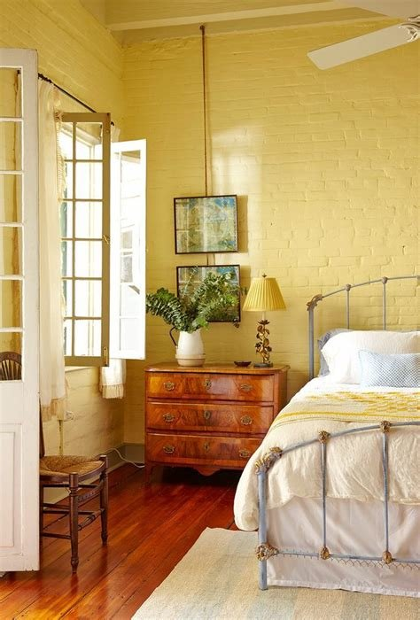 Best Decorating With Yellow Bedroom Shabby Chic Style High With Pictures