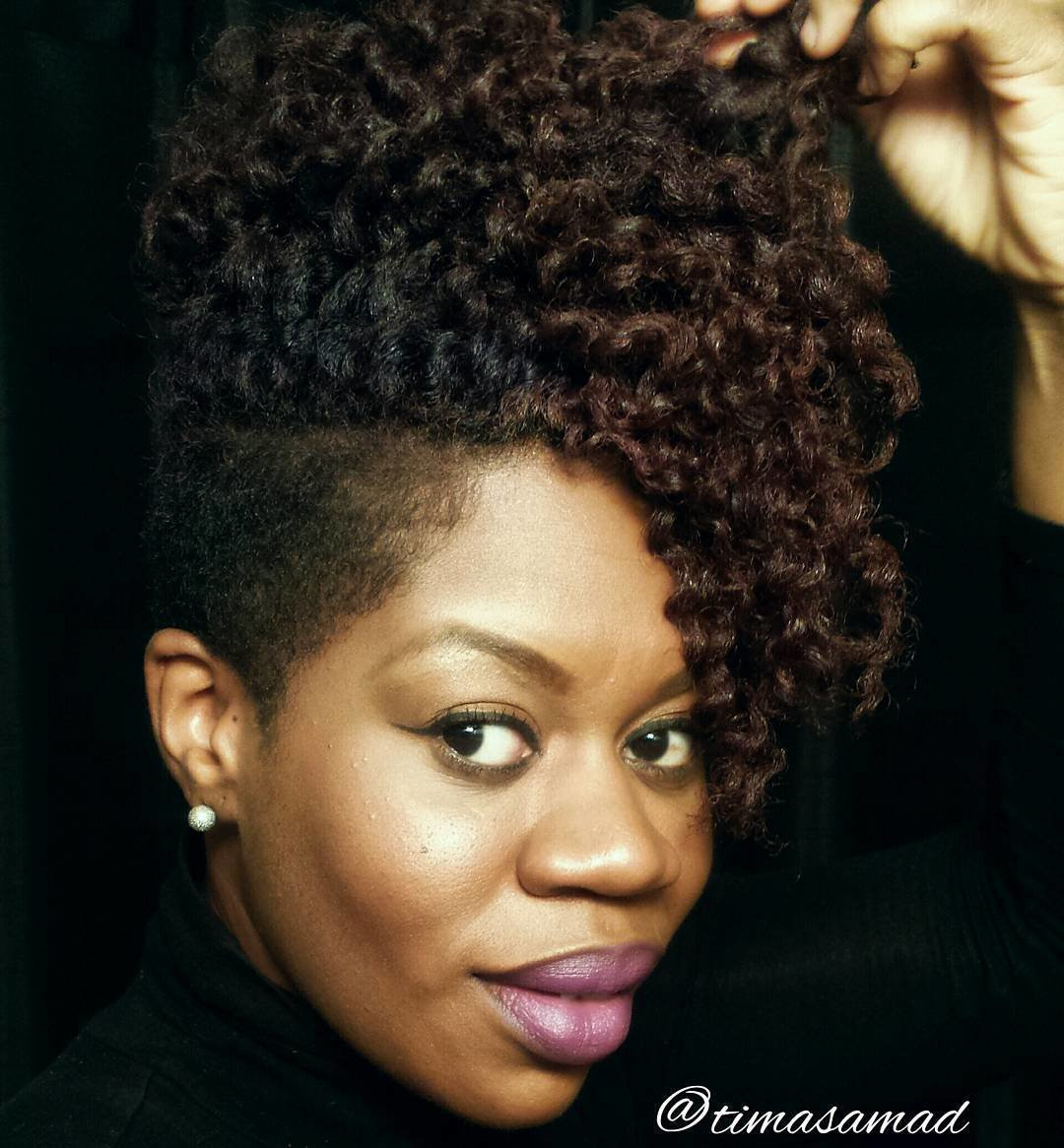 Free 40 Cute Tapered Natural Hairstyles For Afro Hair Wallpaper