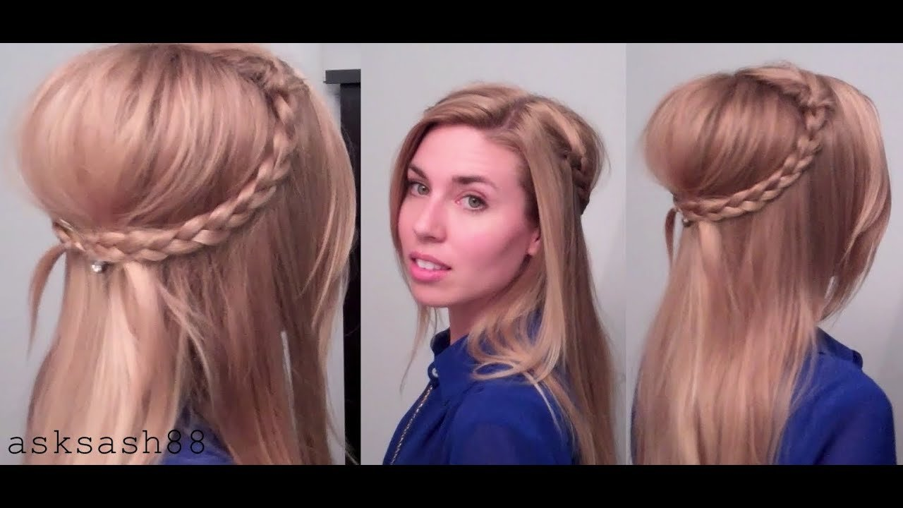 Free Bohemian 70 S Braids Easy Everyday Quick Hairstyles For Long Hair Medium Hair Youtube Wallpaper