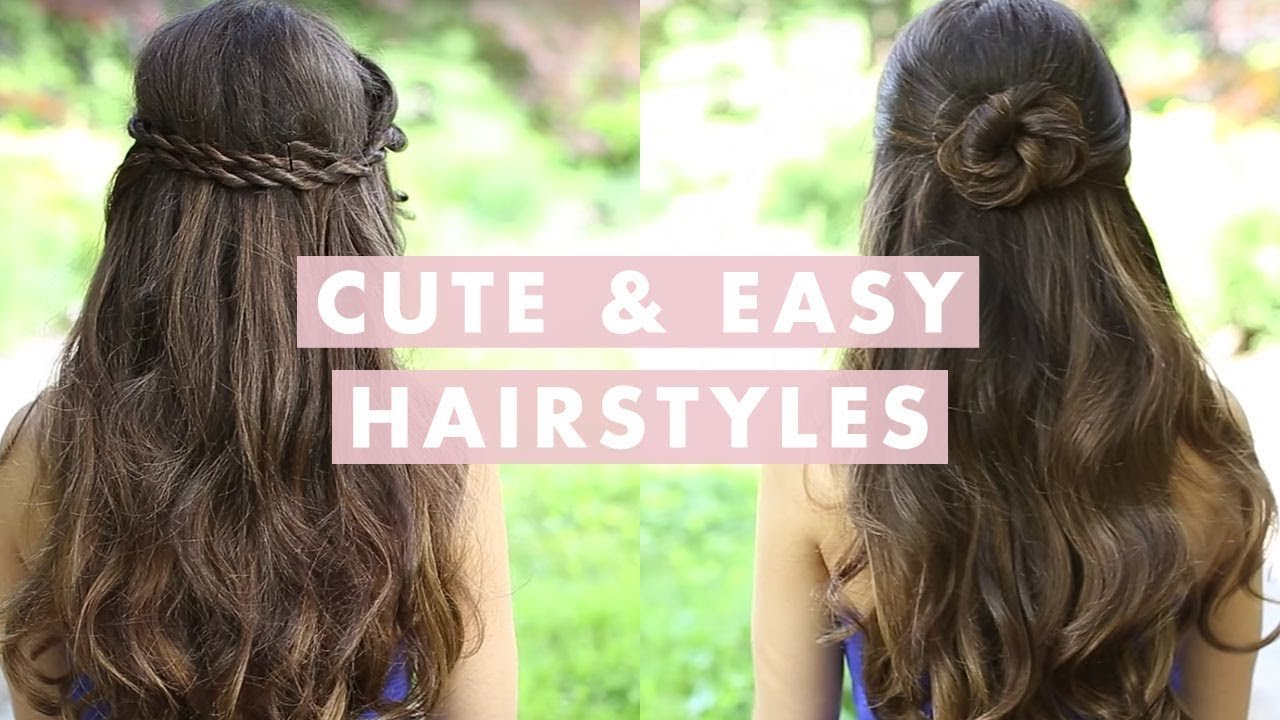 Free Cute And Easy Hairstyles Youtube Wallpaper