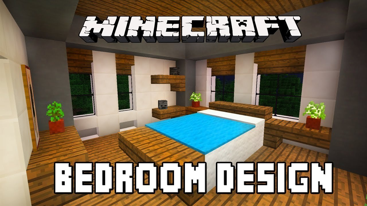 Best Minecraft Tutorial How To Build A Modern House Ep 6 Bedroom Furniture Design Ideas Youtube With Pictures
