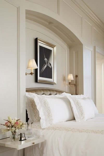 Best Bed Niche W Arch That Mimics Headboard Jeff Herr Photo With Pictures