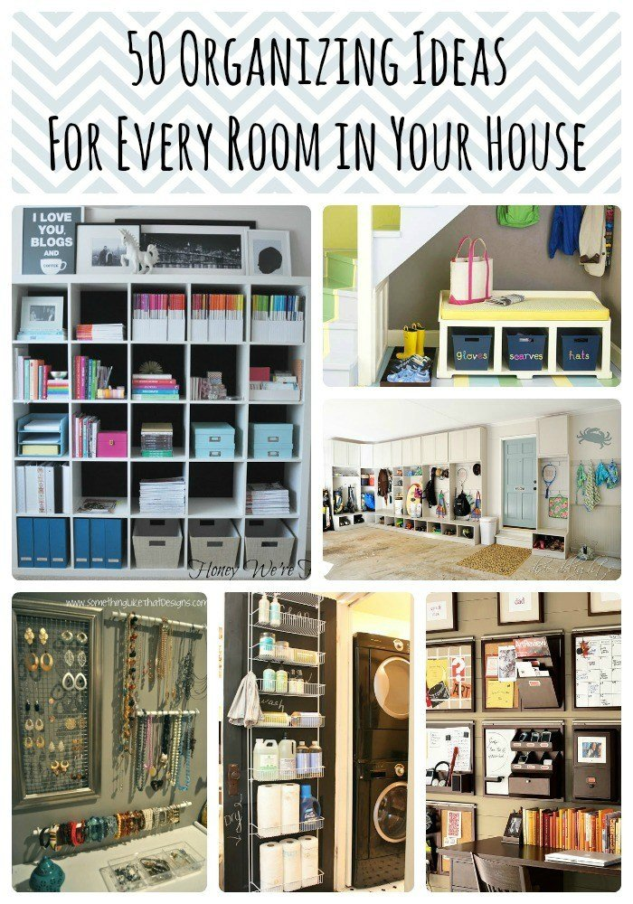 Best 50 Organizing Ideas For Every Room In Your House — Jamonkey With Pictures
