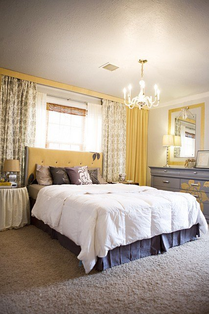 Best How To Hang Wall To Wall Curtains Kara Paslay Design With Pictures