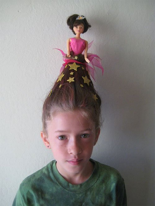 Free 25 Crazy Funky Scary Halloween Hairstyles For Kids Wallpaper