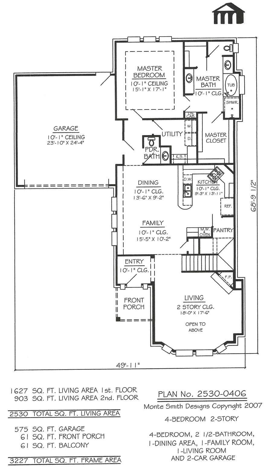 Best 2530 0406 Square Feet 4 Bedroom 2 Story House Plan With Pictures
