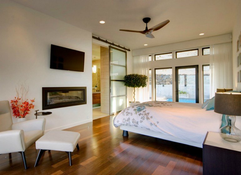 Best 10 Glorious Bedroom Decors With Glass Sliding Doors With Pictures
