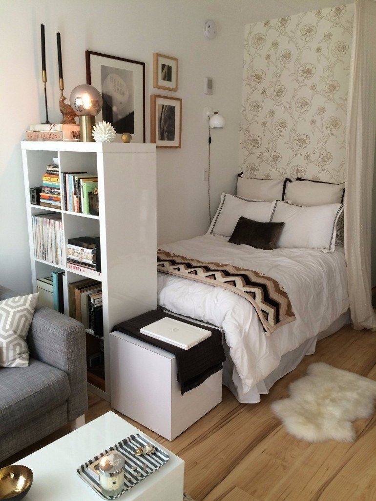 Best Tips To Create The Perfect Tiny Bedroom In Your Studio With Pictures