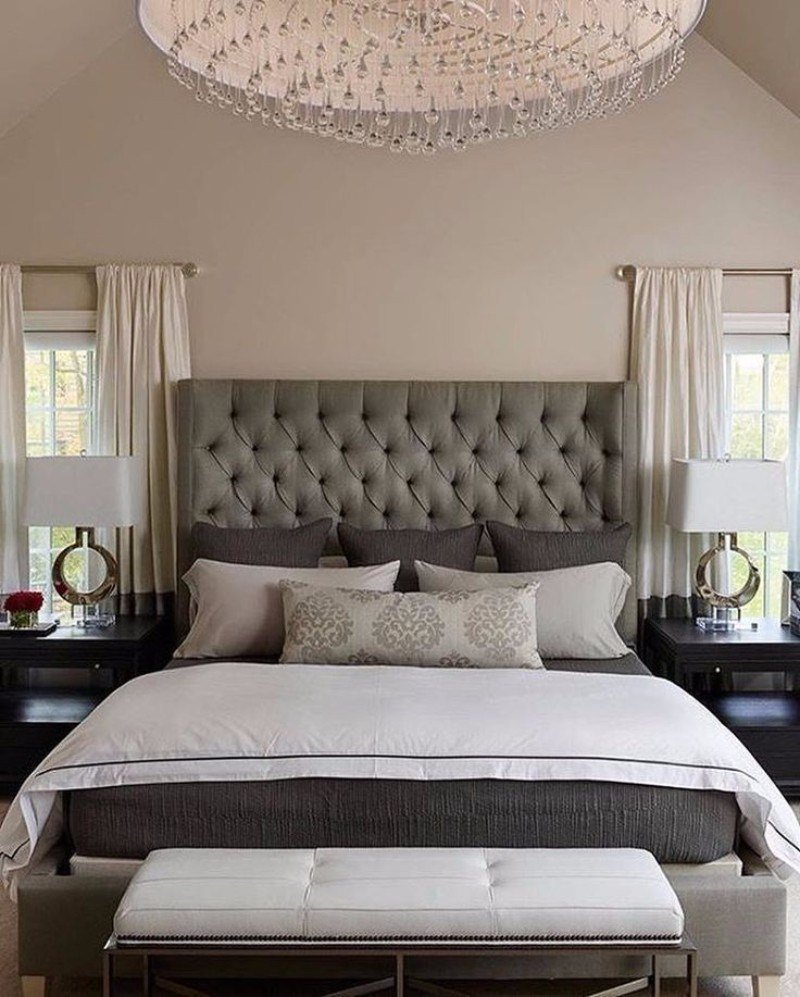Best Sublime Tufted Headboards For Master Bedroom Décor With Pictures