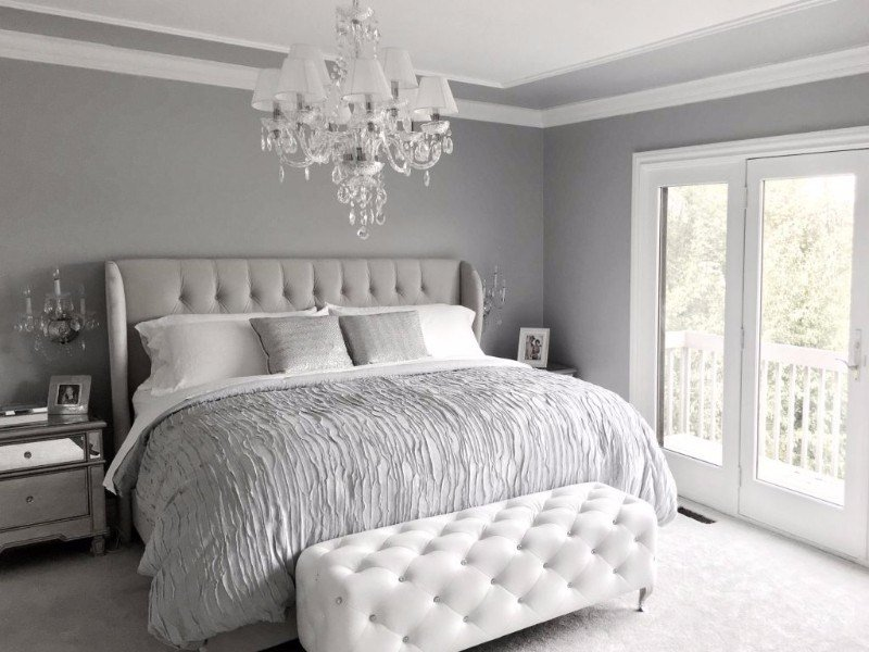 Best 10 Calm And Charming All White Bedrooms – Master Bedroom Ideas With Pictures