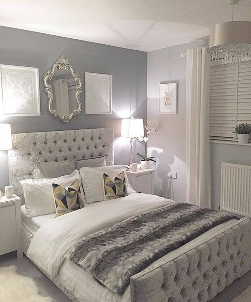 Best Sumptuous Bedroom Inspiration In Shades Of Silver – Master With Pictures