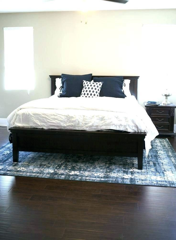 Best Area Rug Placement For King Size Bed Rugs Ideas With Pictures