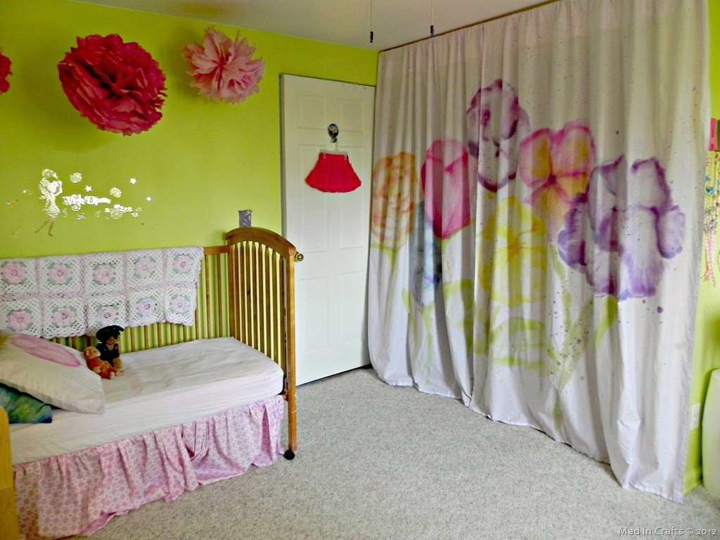 Best Watercolor Curtains With Tie Dye Mad In Crafts With Pictures