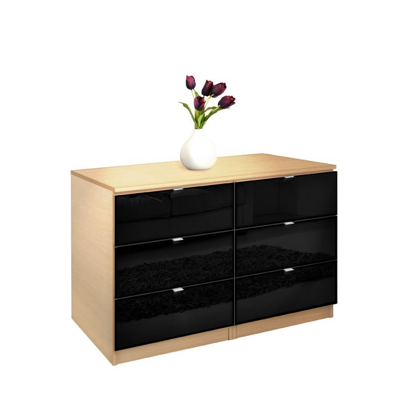 Best City Dresser 6 Drawer Dresser For Small Bedrooms Contempo Space With Pictures