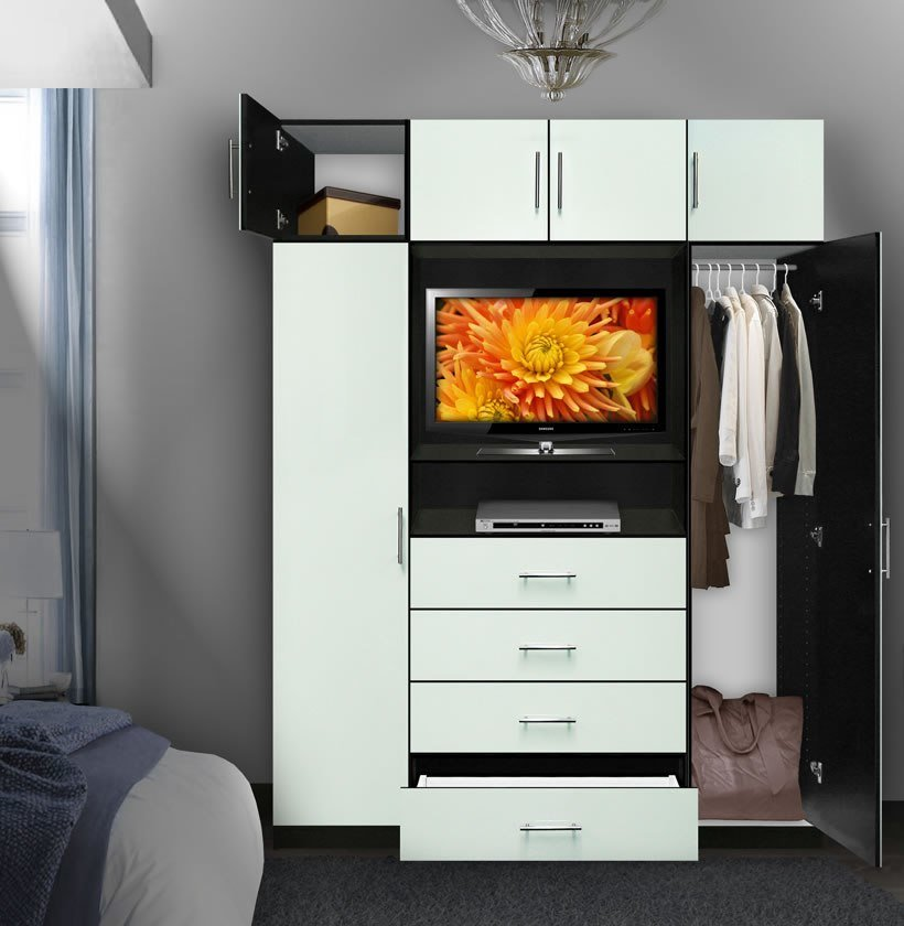 Best Aventa Bedroom Tv Armoire X Tall Contempo Space With Pictures