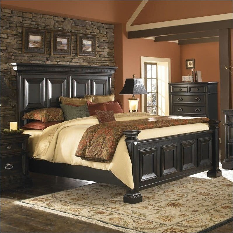 Best Pulaski Brookfield 2Pc California King Panel Bed Set In With Pictures