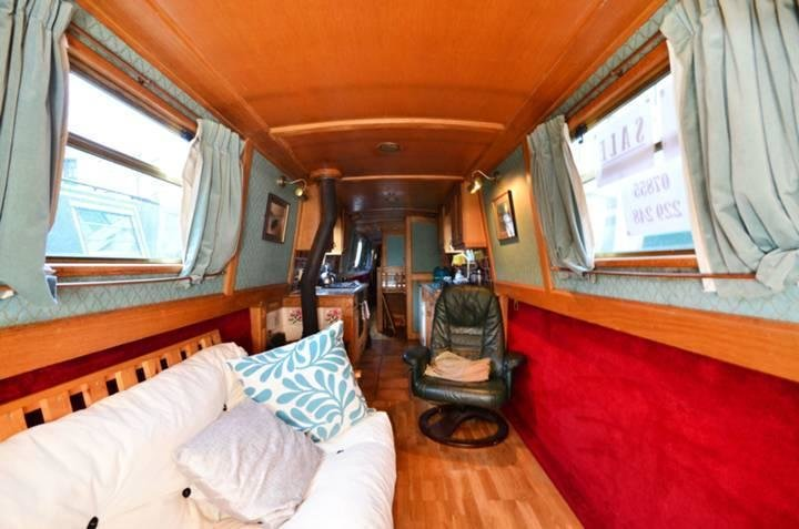Best 2 Bedroom House Boat For Sale In Ice Wharf Marina King S With Pictures