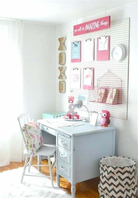 Best Elegant White Desks For Teens Girls Bedroom Ideas With With Pictures