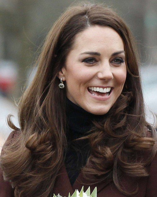 Free Kate Middleton Long Curly Hairstyles 2013 Popular Haircuts Wallpaper