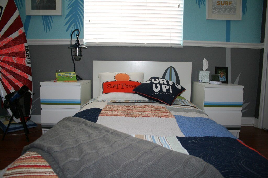 Best Kiko S Surf Themed Bedroom Project Nursery With Pictures
