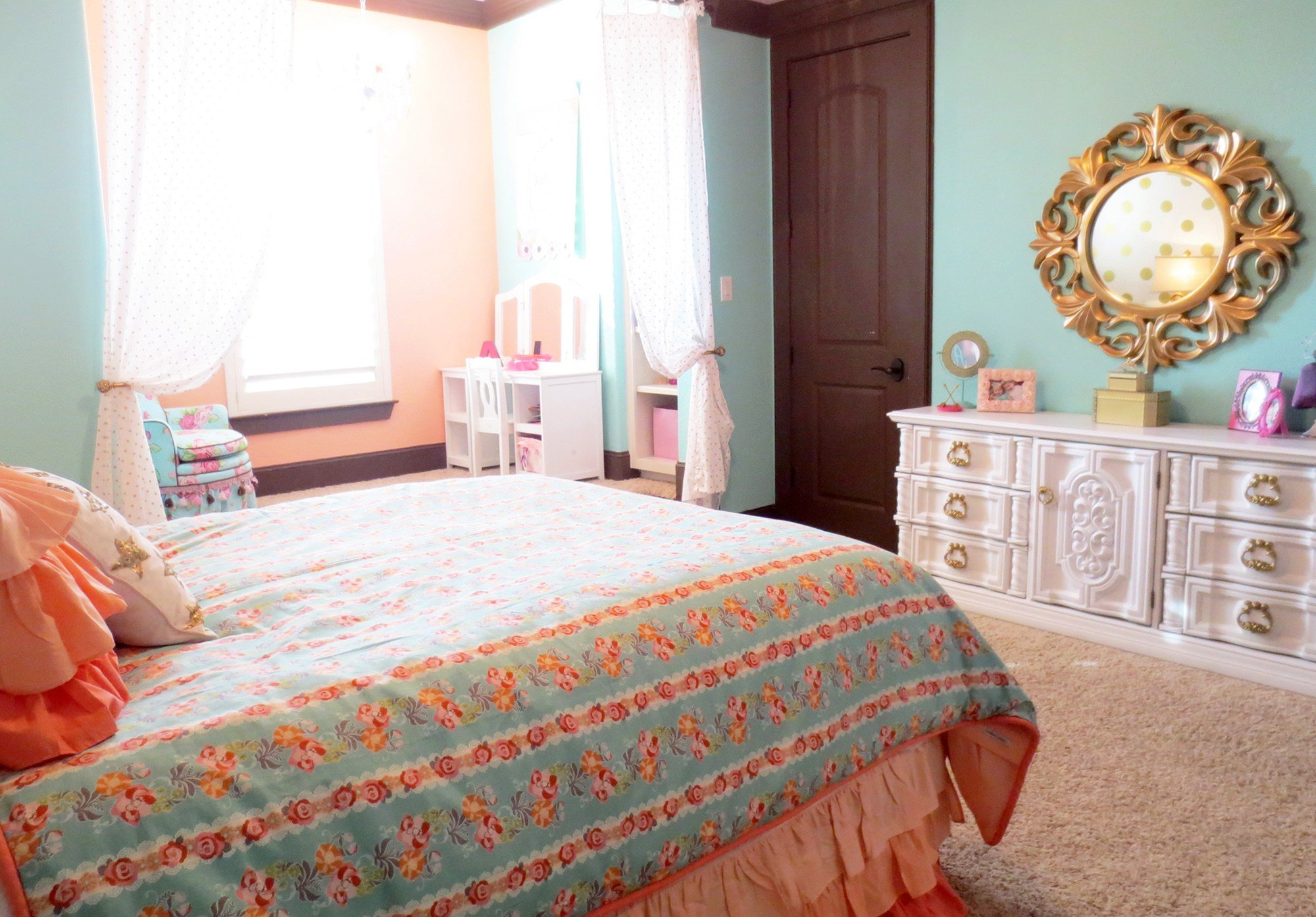 Best Katy Mimari S Glam Big Girl Room Project Nursery With Pictures