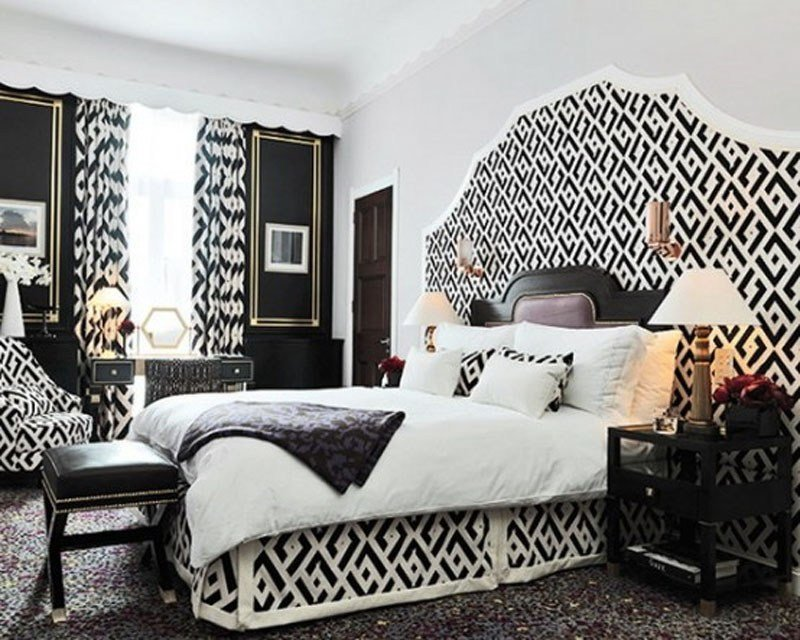 Best Black And White Bedroom Interior Design Ideas With Pictures