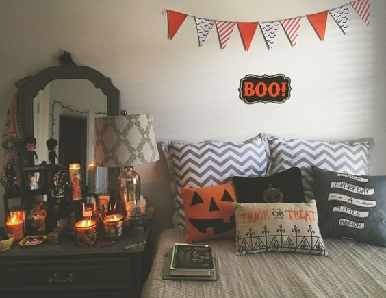 Best Spooky But Lovely Kids Room Halloween Decorations Ideas With Pictures