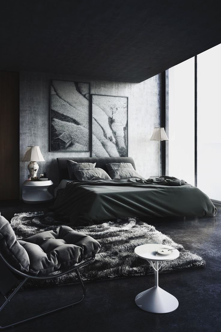Best Back To Black Decorating With Dark Color Schemes With Pictures