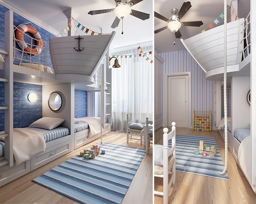 Best 22 Creative Kids' Room Ideas That Will Make You Want To Be With Pictures
