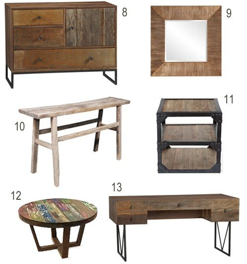 Best Get The Look Reclaimed Wood Bedroom Furniture Stylecarrot With Pictures